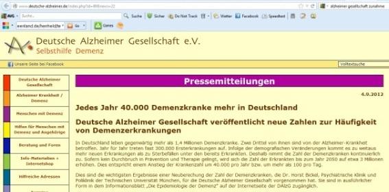deutsche alzheimer gesellschaft rostock
